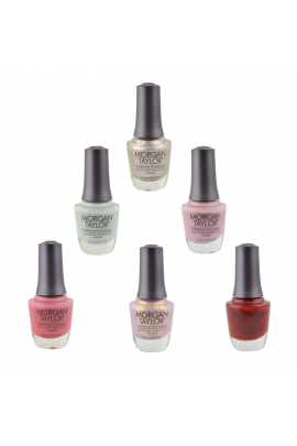 Morgan Taylor Lacquer - Out In The Open Collection - All 6 Colors - 0.5oz / 15ml