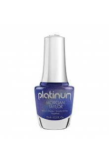 Morgan Taylor Nail Lacquer - Platinum - Journey to Wonderland Collection - Frolic in Fairy Dust - 15ml / 0.5oz