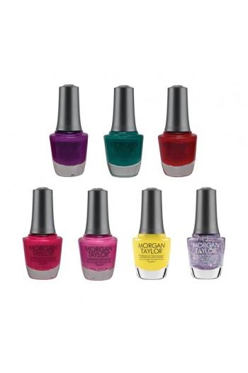 Morgan Taylor Nail Lacquer - Rocketman Summer 2019 Collection - All 7 Colors - 15ml / 0.5oz each