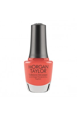 Morgan Taylor - Professional Nail Lacquer - Candy Coated Coral - 15 mL / 0.5oz