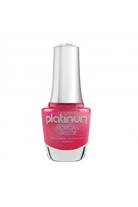 Morgan Taylor Nail Lacquer - Platinum - Journey to Wonderland Collection - Fit for a Fairytale - 15ml / 0.5oz