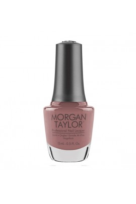 Morgan Taylor - Professional Nail Lacquer -  Mauve Your Feet - 15 mL / 0.5oz