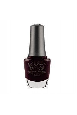 Morgan Taylor - Professional Nail Lacquer - Plum And Done - 15 ml / 0.5 oz