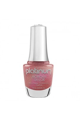 Morgan Taylor Lacquer - Platinum Collection - Glow All Out - 15 mL / 0.5 Fl Oz