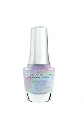 Morgan Taylor Lacquer - Platinum Collection - Liquid Bling - 15 mL / 0.5 Fl Oz