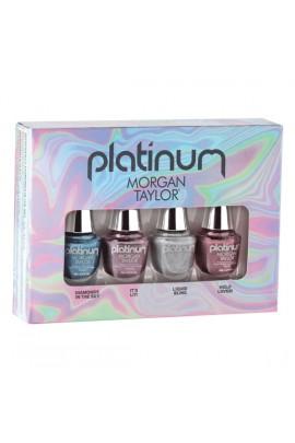 Morgan Taylor Nail Lacquer - Platinum Collection - Mini 4 pk Set - 5 mL / 0.17 oz each