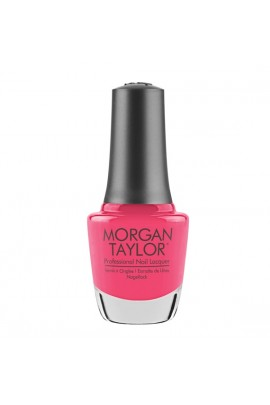 Morgan Taylor - Professional Nail Lacquer -  Pretty As A Pink-ture - 15 mL / 0.5oz