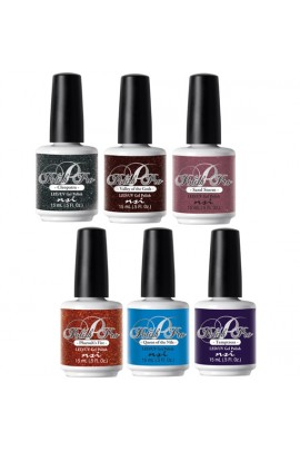 NSI Polish Pro Gel Polish - Egyptian Goddess Collection - All 6 Colors - 15 ml / 0.5 oz Each