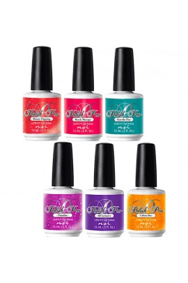 NSI Polish Pro Gel Polish - The Island Resort Collection - All 6 Colors - 15 ml / 0.5 oz Each