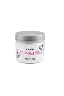 NSI Attraction Nail Powder: Soft White - 1.42oz / 40g
