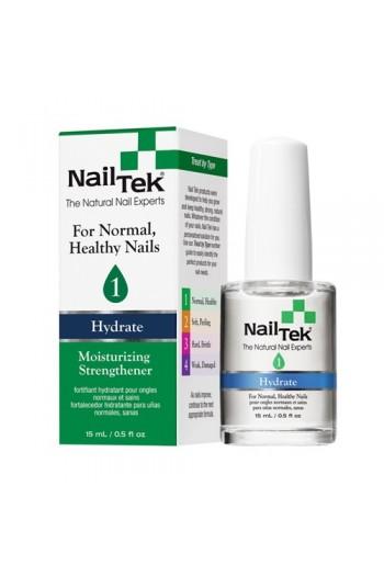 Nail Tek Hydrate - Moisturizing Strengthener 1 - 0.5oz / 15ml