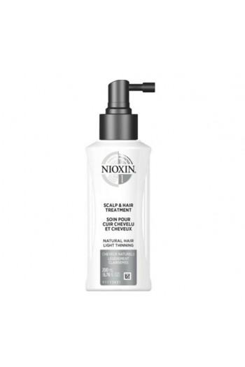Nioxin 1 - Scalp and Hair Treatment - Natural Hair Light Thinning - 200 mL / 6.76 oz