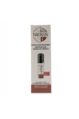 Nioxin 4 - Scalp and Hair Treatment - Colored Hair Progressed Thinning - 100mL (3.38 oz)