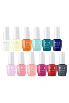 OPI GelColor - Grease Summer Collection 2018 - All 12 Colors - 15 mL / 0.5 fl oz. Each