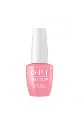 OPI GelColor - Grease Summer Collection 2018 - Pink Ladies Rule The School - 15 mL / 0.5 fl oz.