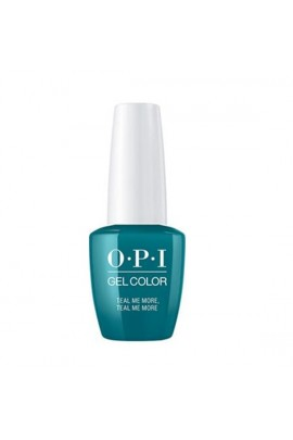 OPI GelColor - Grease Summer Collection 2018 - Teal Me More, Teal Me More - 15 mL / 0.5 fl oz.