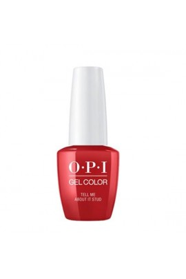 OPI GelColor - Grease Summer Collection 2018 - Tell Me About It Stud - 15 mL / 0.5 fl oz.