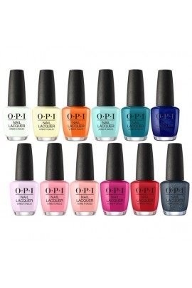OPI Nail Lacquer - Grease Summer Collection 2018 - All 12 Colors - 15 mL / 0.5 fl oz. Each