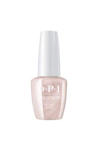 OPI GelColor - Always Bare For You Collection - Chiffon-d of You  - 15ml / 0.5oz