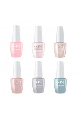OPI GelColor - Always Bare For You 2019 Collection - All 6 Colors - 15ml / 0.5oz