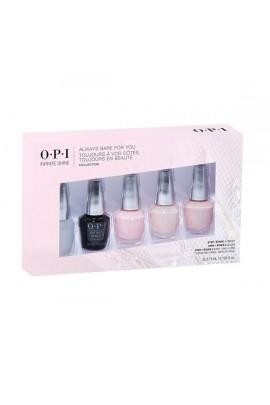 OPI Infinite Shine - Always Bare For You Mini 5-Pack -  3.75ml / 0.125oz each