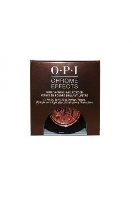 OPI Chrome Effects - Mirror-Shine Nail Powder - Bronzed By The Sun - 3g / 0.10oz