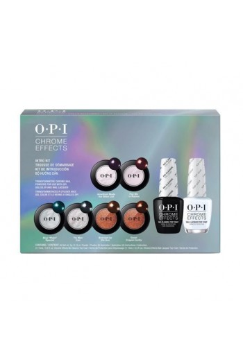 OPI Chrome Effects - Intro Kit - 8 Piece