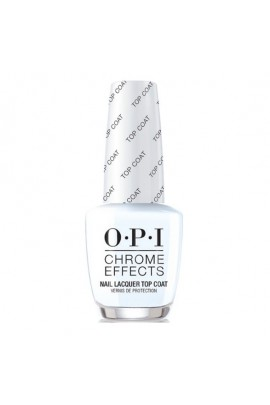 OPI Chrome Effects - Nail Lacquer Top Coat - 15ml / 0.5oz