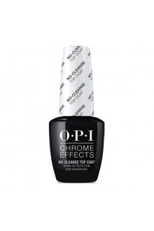 OPI Chrome Effects - No-Cleanse Gel Top Coat - 15ml / 0.5oz