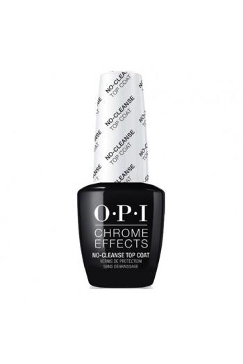 OPI Chrome Effects - No-Cleanse Gel Top Coat - 15ml / 0.5oz