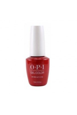 OPI GelColor - Holiday 2017 Collection - My Wish List Is You - 0.5oz / 15ml