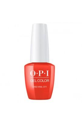 OPI GelColor - Lisbon 2018 Collection - A Red-vival City - 15 mL/0.5 Fl Oz