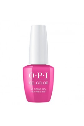 OPI GelColor - Lisbon 2018 Collection - No Turning Back From Pink Street - 15 mL/0.5 Fl Oz