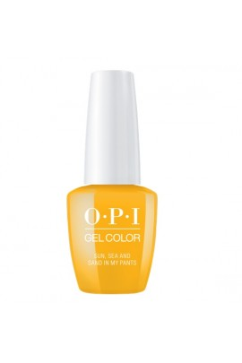 OPI GelColor - Lisbon 2018 Collection - Sun, Sea, and Sand in My Pants - 15 mL/0.5 Fl Oz