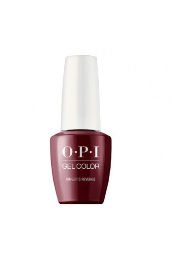 OPI GelColor  - The Nutcracker and the Four Realms  Collection - Ginger's Revenge