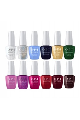 OPI Gel Color - The Nutcracker and the Four Realms  Collection - All 12 Colors - 15 mL / 0.5 Each