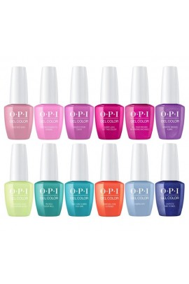 OPI GelColor - Tokyo Collection Spring 2019 - All 12 Colors - 15 mL / 0.5 oz Each