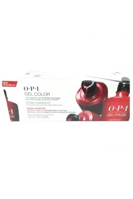 OPI GelColor Pro - Iconic Shades Kit
