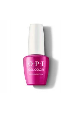 OPI Gel Color - Flashbulb Fuchsia - 15 mL / 0.5 oz