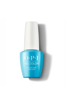 OPI Gel Color - Teal The Cows Come Home - 15 mL / 0.5 oz