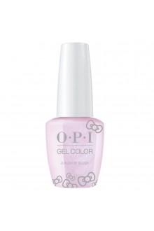 OPI GelColor - Hello Kitty 2019 Christmas Collection - A Hush Of Blush - 15ml / 0.5oz