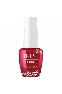 OPI GelColor - Hello Kitty 2019 Christmas Collection - A Kiss On The Chic - 15ml / 0.5oz