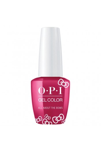 OPI GelColor - Hello Kitty 2019 Christmas Collection - All About The Bows - 15ml / 0.5oz
