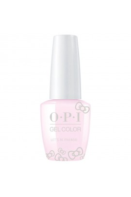 OPI GelColor - Hello Kitty 2019 Christmas Collection - Let's Be Friends! - 15ml / 0.5oz