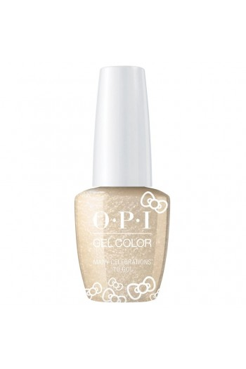 OPI GelColor - Hello Kitty 2019 Christmas Collection - Many Celebrations To Go! - 15ml / 0.5oz