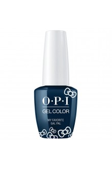 OPI GelColor - Hello Kitty 2019 Christmas Collection - My Favorite Gal Pal - 15ml / 0.5oz