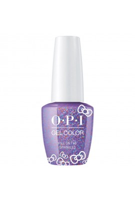 OPI GelColor - Hello Kitty 2019 Christmas Collection - Pile On The Sprinkles - 15ml / 0.5oz