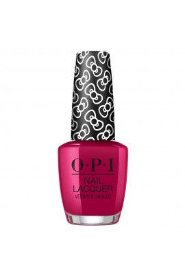 OPI Nail Lacquer - Hello Kitty 2019 Christmas Collection - All About The Bows - 15ml / 0.5oz