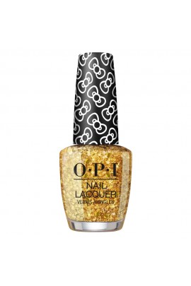 OPI Nail Lacquer - Hello Kitty 2019 Christmas Collection - Glitter All The Way - 15ml / 0.5oz