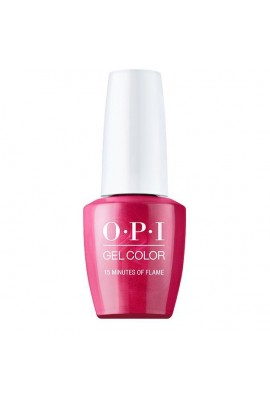OPI GelColor - Hollywood Collection - 15 Minutes of Flame - 15ml / 0.5oz